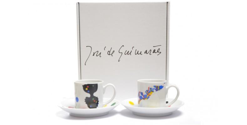 Conjunto Chávenas José de Guimarães