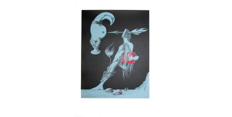 Cruzeiro Seixas - Composição Surrealista III